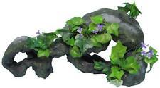 Aquarium Rock With Plants Fish Tank Decoration - ROPL301