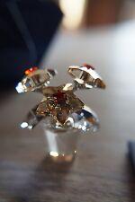 Swarovski Crystal Star Fleurs Fleur figurine 1006036, BNIB w / COFA