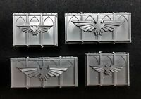Ammo Crates Munitorum Armoured Container Warhammer 40K Chests Supply Objectives