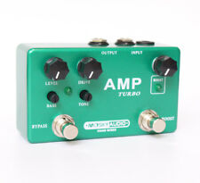 High quality  AMP TURBO  guitar effect pedal  Boost And Overdrive 2 effects in 1