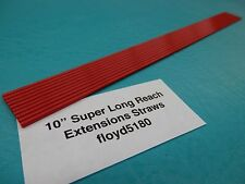 "10 LPS WD40 Red Straw 10"" Spray Can Nozzel tip Rust Oil Cleaner"