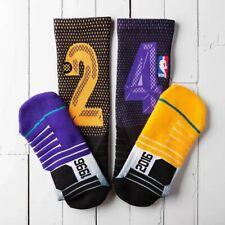 4/10 Pack STANCE 24 Socks Mens NBA Basketball Fusion Athletic Low Cut Size 9-12