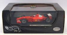 Coches de carreras de automodelismo y aeromodelismo Ferrari en metal blanco Escala 1:43