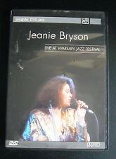 Jazz-DVD  Jeanie Bryson – Live at Warsaw Jazz Festival