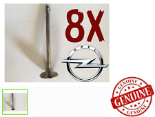 8x Auslaßventil Exhaust Valve  OPEL CHEVROLET 1,4 -,6 16V 641340, 9041904 064134