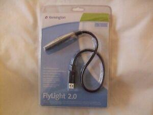 Kensington 33120 FlyLight USB 2.0 Notebook Light PC/Mac Ultra Bright LED's