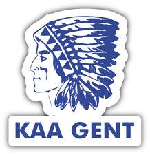 KAA Gent FC Belgium Soccer Football Car Bumper Sticker Decal 5'' x 5''