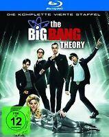 The Big Bang Theory - Die komplette vierte Staffel [Blu-ray]   DVD   Zustand gut