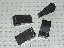 4 x LEGO black Slope brick ref 30363 / 7784 10030 7997 10215 7885 4534 4535 7897