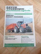 MF 3115 / 3125 PERKINS 1006 GLR et GT7 Revue Technique Agricole Massey Ferguson