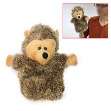 Hedgehog Plush Hand Glove Puppet Kids Child Velour Toys Preschool Stor JYF