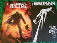 Batman DK 3 T1 (Miller)  et Batman Metal Première édition et neuf!!!