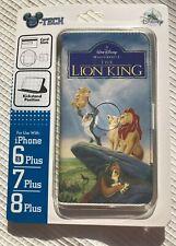 Disney D-Tech Lion King VHS Look iPhone 6+ Plus 7+ Plus 8+ Plus Cell Phone Case