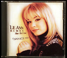 How Do I Live - Dance Mix [Maxi Single] by LeAnn Rimes (CD, Feb-1998, Curb)