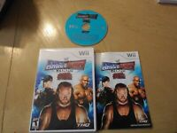 WWE SmackDown vs. Raw 2008 Featuring ECW - (Nintendo Wii, 2008) Mint Disc