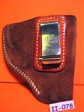 CLIP ON BIANCHI Soft Leather HIDE AWAY STYLE GUN PISTOL Holster MAKE OFFER