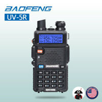 Baofeng UV-5R Two way Radio 5W VHF UHF FM Transceiver Ham Walkie Talkie