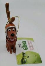 Kurt Adler Christmas Ornaments Santa Grinch Dog Max Antler Hat Collar Dr Seuss