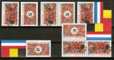 Nederland alle combinaties uit postzegelboekje 60