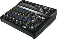 NEW Alto Zephyr 8 Channel Compact Audio Mixer w/ Digital Effects Preamp