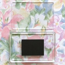 10x Blank Clear Acrylic Fridge Magnets 78x52mm Frame & 70x45mm Photo Size C1108