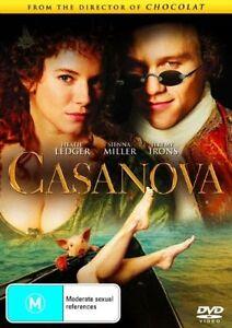 Casanova DVD Heath Ledger Movie
