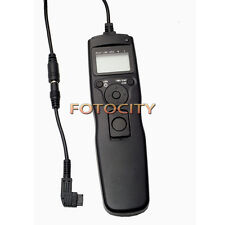 Timer Remote Shutter Removable Cord Cable F Sony Alpha A700 A850 A900 A550 A450