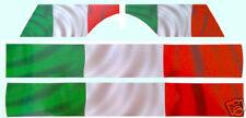 VESPA PX ITALIAN FLAG DECAL / STICKER KIT,Scooter,Mod