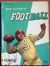 1959 HOW TO STAR IN FOOTBALL BOOK