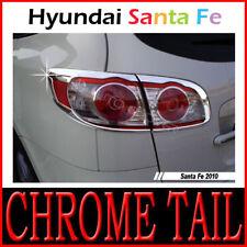 Chrome Rear Light Lamp Cover For 2010 2011 Hyundai Santa Fe