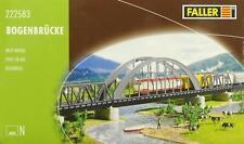 Faller 222583 N - Bogenbrücke mit zwei Vorflutbrücken NEU & OvP