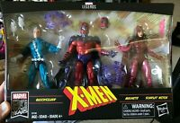 Marvel Legends Family Matters 3 Pack Magneto Scarlet Witch Quicksilver Sealed