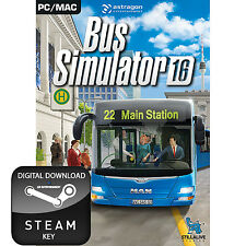 BUS SIMULATOR 16 2016 PC AND MAC STEAM KEY