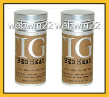 2pcs x TIGI BED HEAD Wax Stick soft pliable hold create texture hair style 2.7oz