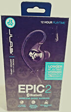 JLAB EPIC2 BLUETOOTH 4.0 WIRELESS SPORT FITNESS EARBUDS EARHOOK FREE SHIPPING