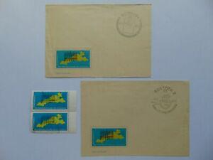 DKB Sonderbriefe & Vignetten III. Int. Briefmarkenausstellung Ostseeländer 1965