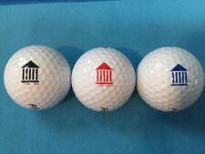 3 Pack Logo Golf Balls: Greece The Parthenon