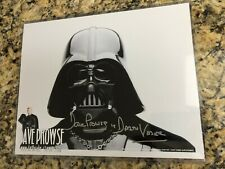 Dave Prowse DARTH VADER Star Wars Signed Autographed 8x10 Black and White B&W