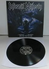 Infernal Majesty No God Black Vinyl LP Record new