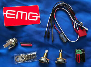 New EMG SPL Wiring Kit with Split-Shaft Pots - Perfect for EMG Installations!
