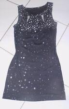 Long Shirt  Etui Mini Kleid MARC CAIN  GR N3 38 blau Sterne Stars  100% Original