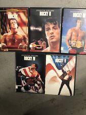 The Rocky Anthology (Dvd, 2004, 5-Disc Set)