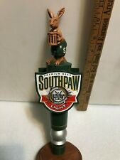 Miller Southpaw Light beer tap handle. Miller/Coors. Usa