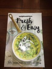 Weight Watchers book FRESH & EASY Smart Points Plan food guide meals recipes EUC