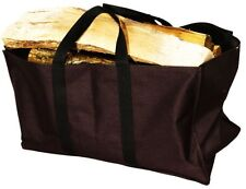 Black Uniflame Firewood Log Tote Carrier with Sides model W-1171