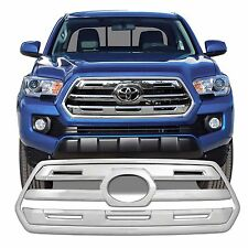 FREE SHIPPING: 2016-2017 Toyota Tacoma SR Chrome Snap On Grille Overlay #138SR