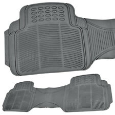 Full Row Rubber Floor Mats / Liner - All Weather Car SUV Truck Cover Runner 1pc