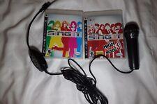 PS3 Disney Sing It Games & Microphone Karaoke