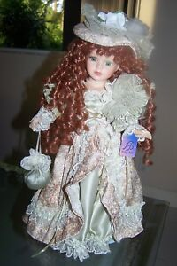 DOLL PORCELAIN HERITAGE SIGNATURE COLLECTION NEW