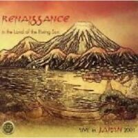 RENAISSANCE - IN THE LAND OF THE RISING SUN-LIVE IN JAPAN 2001 - 2 CD  POP  NEW